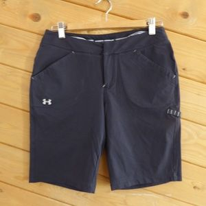 Under Armour Black Shorts Pants Gym Hiking Camping